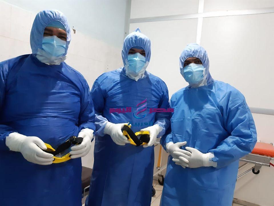 صحة الشرقية: إجراء ثالث ولادة قيصرية لسيدة مصابة بفيروس كورونا بمستشفي العزل بفاقوس