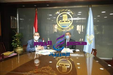 محافظ كفر الشيخ متابعة الأوضاع الصحية مع الوزيرة عبر الكونفرانس