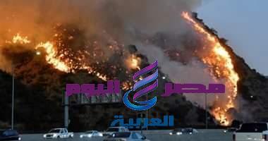 حريق بمستودعات شركة أمازون بجنوب كاليفورنيا