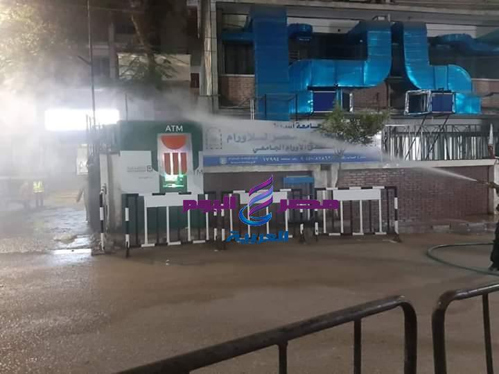 محافظ أسيوط: حملة لرش وتطهير معهد الأورام والمنطقة المحيطة
