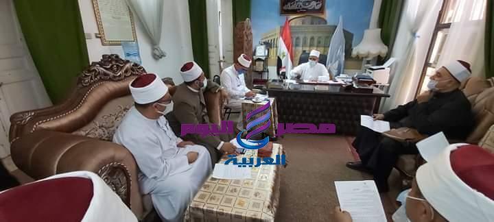 غرفة عمليات بأوقاف الاسكندرية لمتابعة فتح المساجد السبت القادم