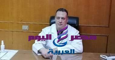 """الدكتور """" احمد سعد """" مدير مستشفى """" ديرب نجم """" يخضعللعزل المنزلي"""