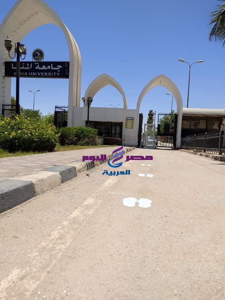 طوارئ وحملات تطهير بالمنشأت التعليميه بجامعة المنيا استعدادا لامتحانات الفرق النهائية | طوارئ
