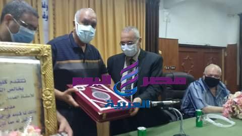 كلية الدراسات وإحتفالية لتكريم ا. حمزة ابويدك لبلوغه سن التقاعد