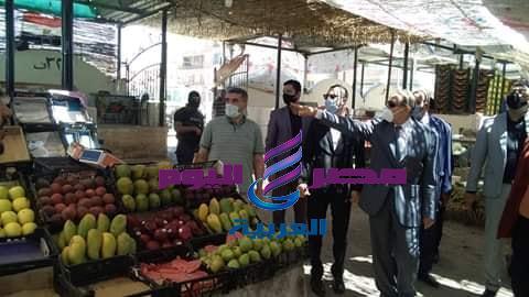محافظ كفر الشيخ يعلن عن غضبه بسبب الإشغالات بسيدى سالم