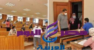 دسوقى ..يحرص على تهيئة اجواء مناسبة للطلاب داخل لجان الامتحانات بجامعة كفر الشيخ   اجواء