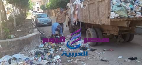معدات منظومة النظافة بدسوق كوارث متحركة بشوارعنا   منظومة النظافة