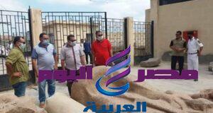 آثار تل الفراعين قريبا بمتحف كفرالشيخ الجديد   آثار