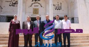 المعاهد الأزهرية تستقبل رئيس الفريق الوطني لإعادة إعمار قطاع غزة   الفريق الوطني