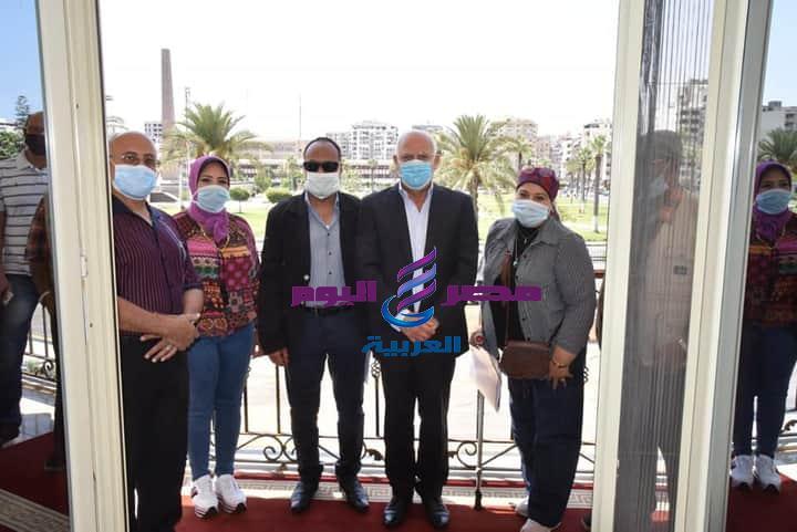 محافظ بورسعيد يلتقى وفد من وزارة الثقافة | محافظ بورسعيد