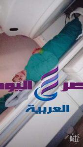 بالفيديو / طفل يطيح بفتاه بمنية النصر