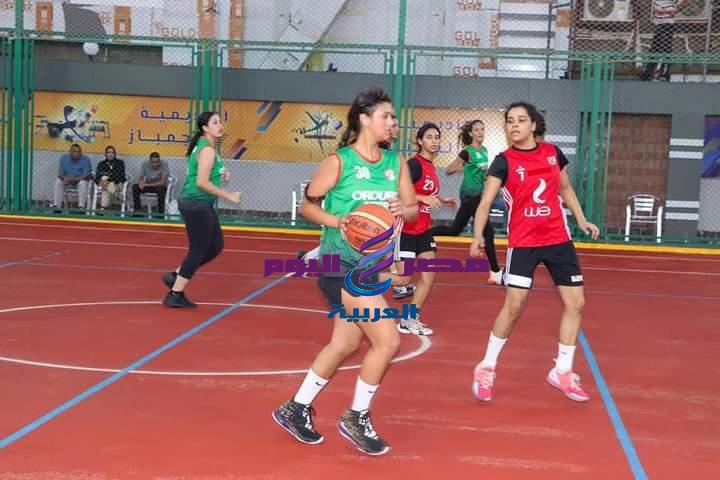 بطولة الجمهورية لفتيات كرة السلة بين فريقي سبورتنج والأهلى بملاعب المنطقة اللوجستية طنطا | كرة السلة