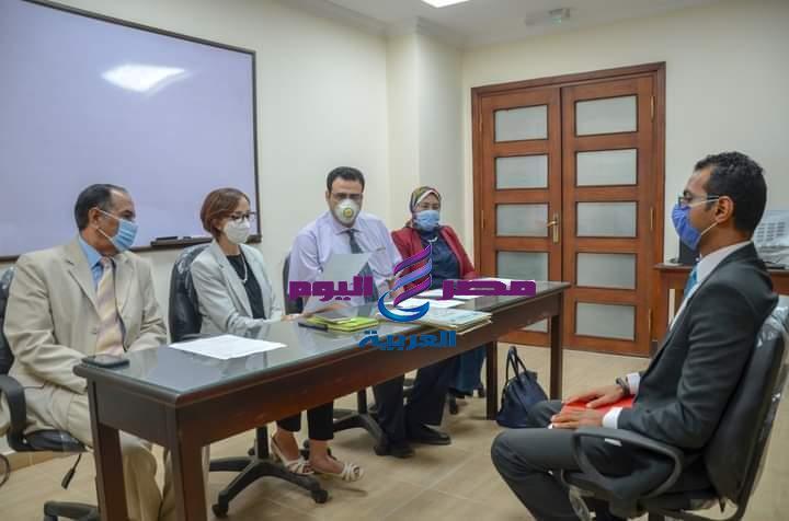 عازر تترأس لجنة إختبارات الدورات التدريبية بالإسكندرية | إختبارات
