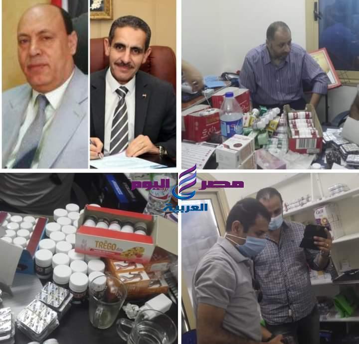 وكيل وزارة التموين يضبط 10000عبوة دواء مهربة جمركيا ومنتهية الصلاحية بمركز طبى بالغربيه | وزارة التموين