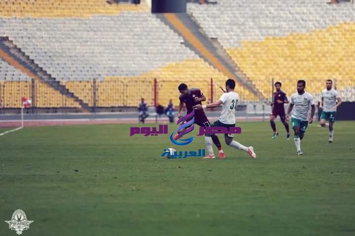 المصري يفوز علي بيراميدز بهدف نظيف | بيراميدز