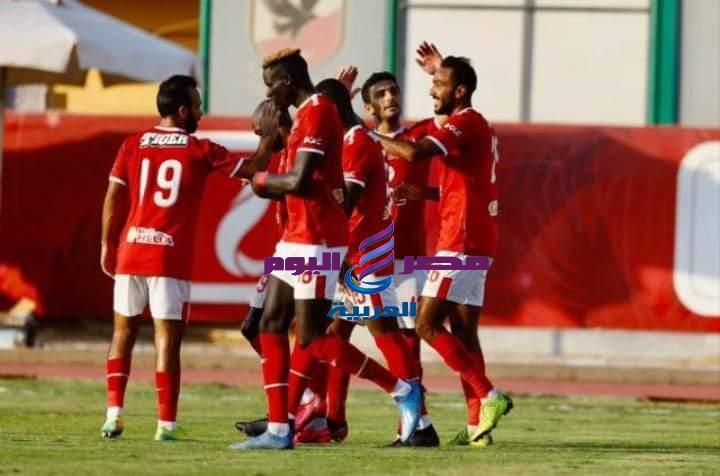 الأهلي يقسوا علي نادي مصر بثلاثية نظيفة في الدوري