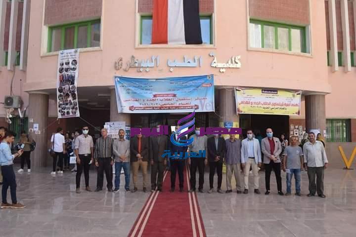 جامعة سوهاج تواصل استقبال طلابها الجدد وتنظم اليوم الرياضي الاول | جامعة سوهاج