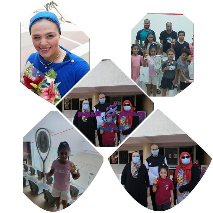 تكريم مدارس بورسعيد بالزمالك الطالبه فريدة المعتصم للحصول على المركز الثاني | تكريم