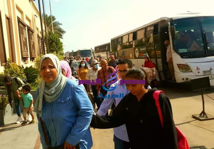 بورسعيد تستقبل عدد من الرحلات من المحافظات الاخري ضمن السياحة الداخلية | الرحلات