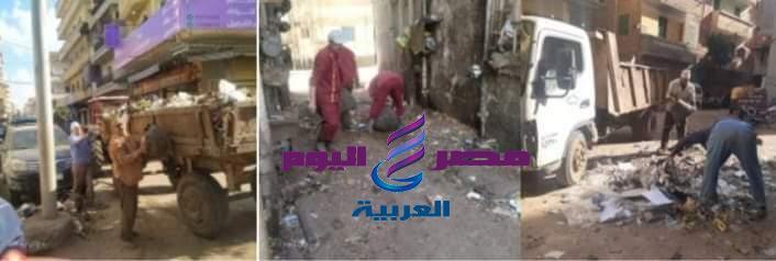 ماضى .. تتابع سير العمل بمنظومة النظافة العامة بأحياء دسوق