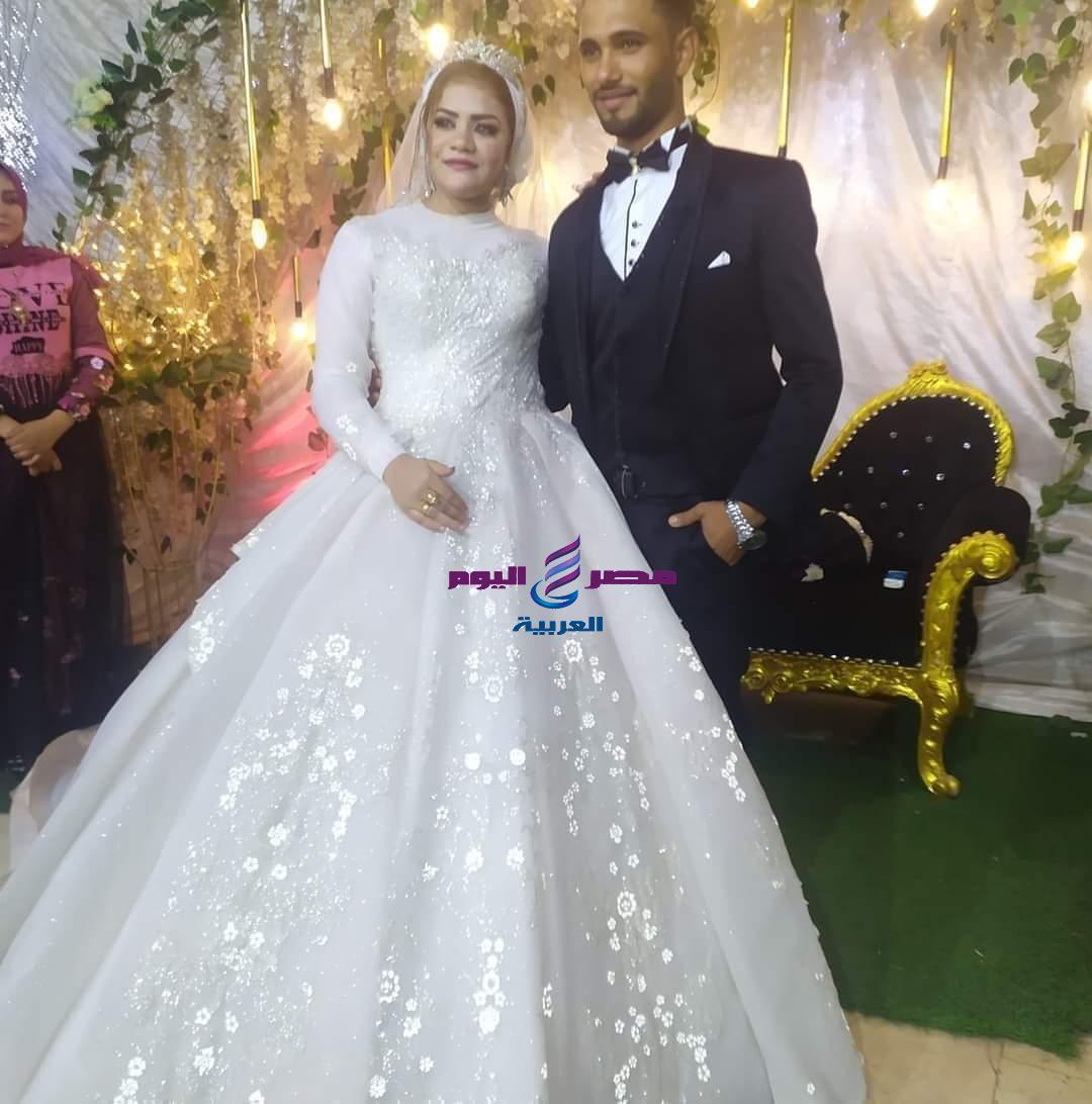 تشيع جثمان عروسان عقب زفافهم بثلاث ايام صعقا بالكهرباء بالمحلة الكبرى | جثمان