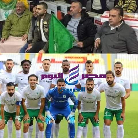 المصري يهدى فوزه بثلاثية علي وادى دجلة لروح الراحل ابراهيم الجباس كبير مشجعي المصري
