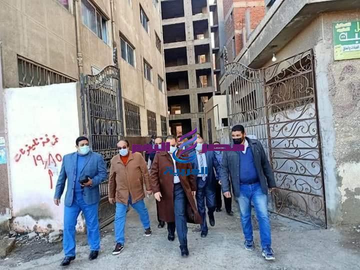 زياره مفاجئه فجر اليوم لمحافظ الشرقيه لمستشفى منيا القمح المركزي | زياره