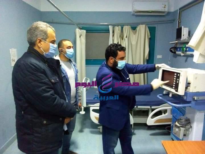 زيارة مفاجئة من وكيل وزارة الصحة بالبحر الأحمرلمستشفى حميات الغردقة ليلا | مفاجئة