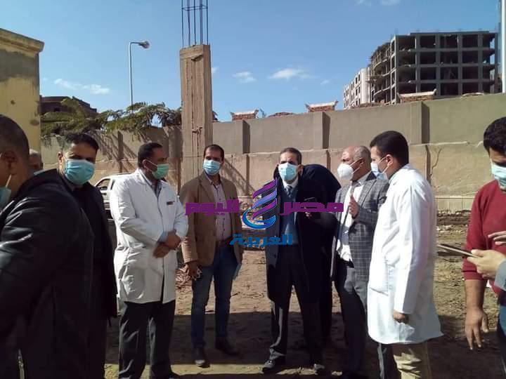 محافظ الغربية يتفقد مستشفى حميات في المحلة الكبري لمتابعة الخدمات الصحية المقدمة للمرضى | محافظ