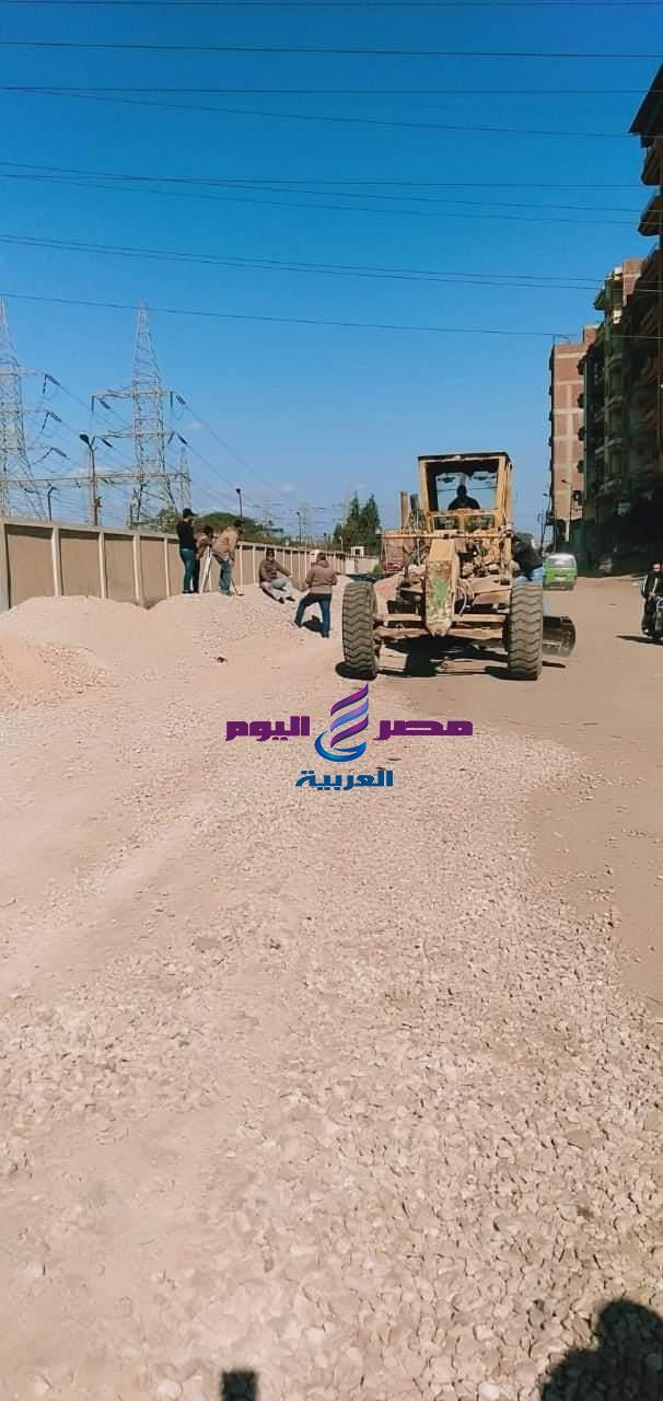تطوير ورصف قرية محلة ابو علي بالمحلة الكبري