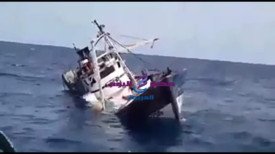 عاجل .. غرق مركب صيد ببحيرة مريوط بالاسكندرية , و إنتشال 6 جثث