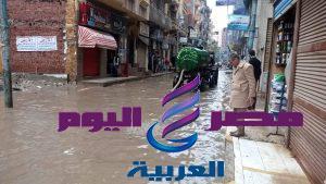 محافظ الدقهلية يتابع أعمال كسح مياه الامطار بعدد من المراكز والمدن