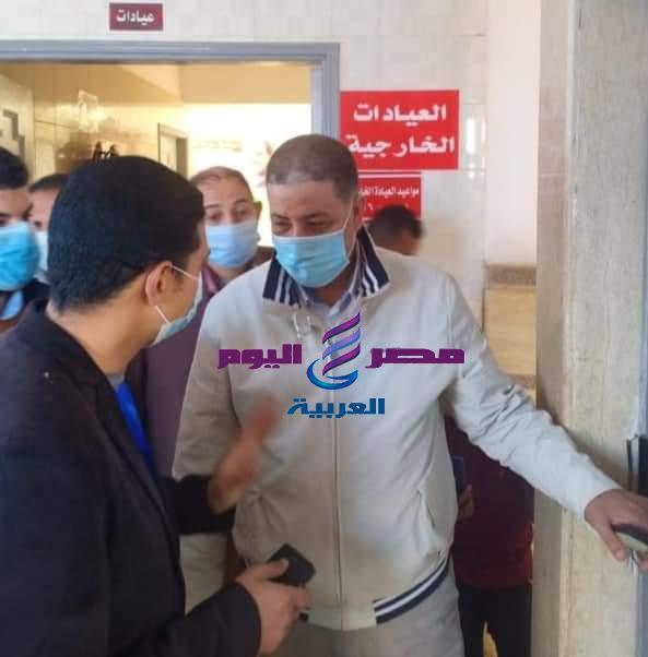 قافلة طبية مجانية بقرية شباس الملح برعاية النائب عادل النجار . | قافلة