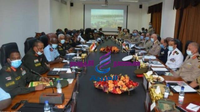مصر والسودان .. يوقعان على اتفاقية عسكرية مشتركة لمواجهة التحديات.