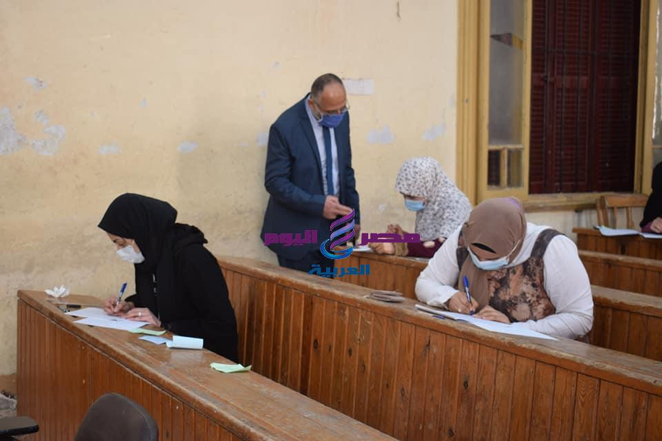 """"""" الطحان"""" تتفقد لجان الامتحانات بالجامعة ويشدد على ضرورة الالتزام بالإجراءات الاحترازية"""