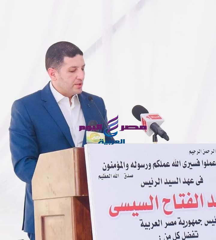 رئيس هيئة الاستثمار ووزير الزراعة يشهدان افتتاح مزرعة للثروة الحيوانية على مساحة 40 فدان بمنطقة النوبارية