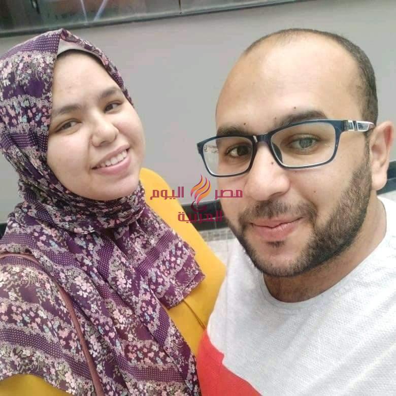 مصرع طبيب واصابه زوجته نتيجة حادث انقلاب سيارة ملاكي بطنطا