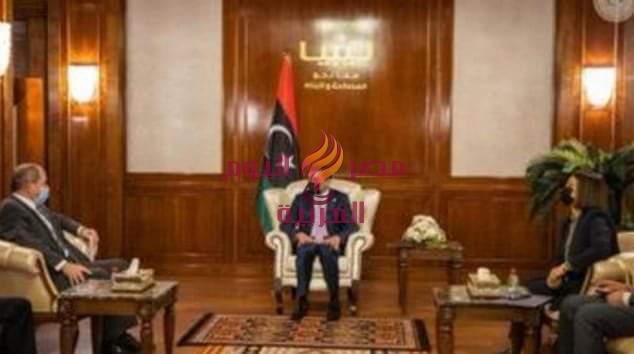 رئيس الحكومة الوطنية الليبية يستقبل وفدا جزائريا لمناقشة القضايا المشتركة | رئيس