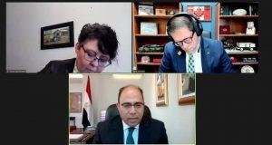سفير مصر في كندا يجري لقاءات مع أعضاء البرلمان الكندي بشأن سد النهضة   سفير