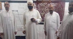 مدير أوقاف الرمل بالأسكندرية وجولة تفقدية ليلا لمتابعة الاجراءات الاحترازية بصلاة التراويح.   أوقاف