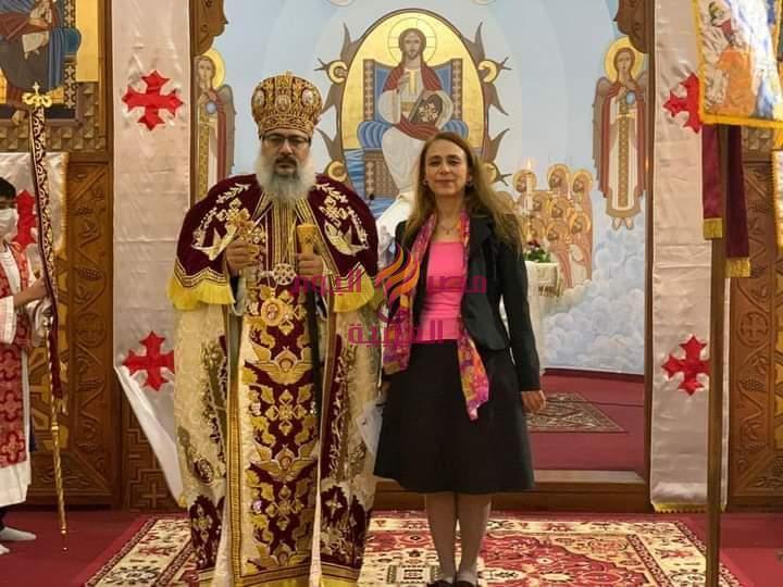 سفيرة مصر لدى بوليفيا تنقل تهنئة الرئيس بمناسبة عيد القيامة المجيد