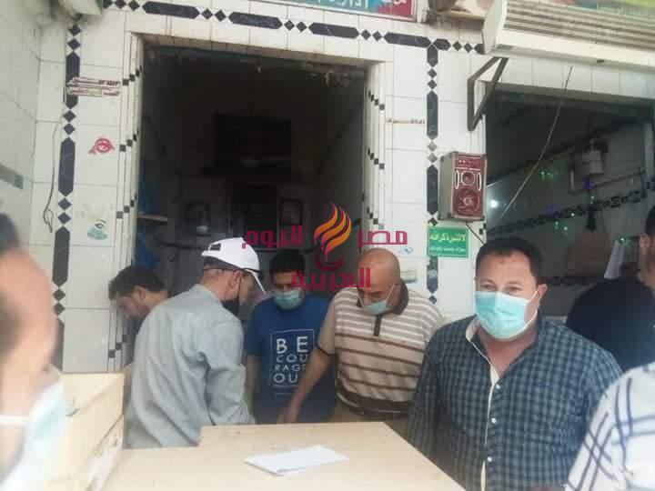 تحرير ٦٠ محضر ومخالفة ضد مخابز ومحلات خلال حملات تموينية مكثفة بمركزي دمنهور وادكو | تحرير