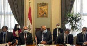 شكرى وعبد العاطى.. مازالت مصر تأمل فى التوصل لإتفاق حول سد النهضة. | مصر