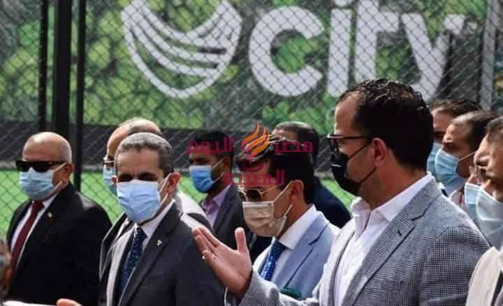 وزير الشباب والرياضة ومحافظ الغربية يشهدان الإفتتاح الجزئي لنادي سيتي كلوب طنطا | وزير