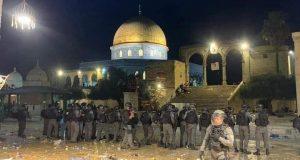مصر تعرب عن إدانتها للاقتحام الإسرائيلي للمسجد الأقصى والاعتداء علي المصلين | مصر