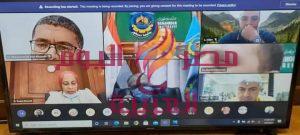 جامعة دمنهور تعقد إجتماعات مكثفة مع المجلس الأعلى للجامعات لمناقشة خطتها للتحول لجامعة ذكية.   جامعة