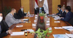 كامل الوزير يترأس اجتماع الجمعية العامة العادية لشركة تكنولوجيا معلومات النقل (ترانس أي تي)   يترأس
