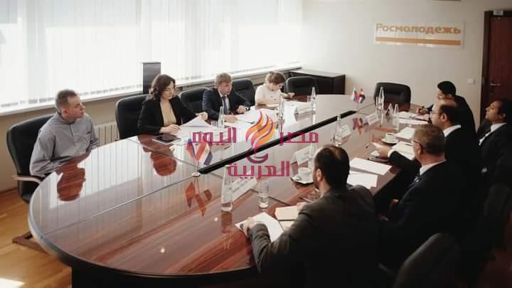 الوكالة الفيدرالية الروسية لشئون الشباب تستقبل وفد وزارة الشباب المصرية