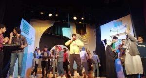 اليوم الثاني حزام ناسف على مسرح قصر ثقافة دمنهور ليلا | مسرح