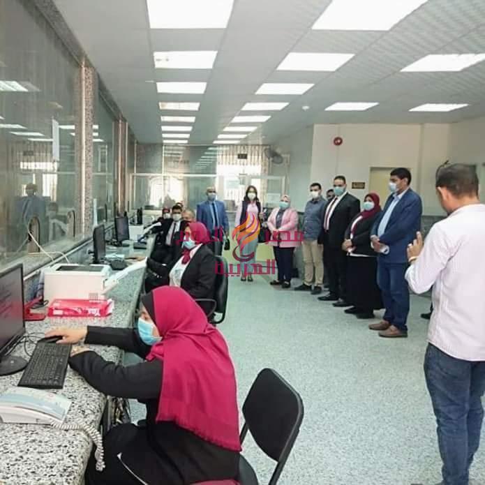 رفع كفاءة الإنارة العامة بنطاق مركز ومدينة رشيد . | رفع